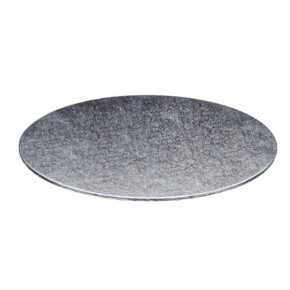Δίσκος στρογγυλός ασημί 3mm