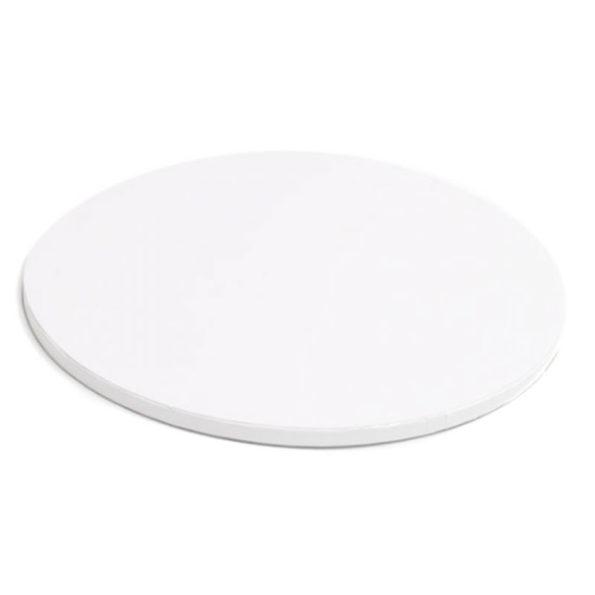 Δίσκος τούρτας ζαχαροπαστα λευκός
