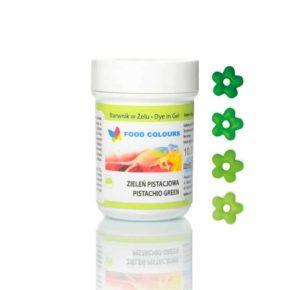 Βρώσιμο χρώμα 35γρ πράσινο φιστικί