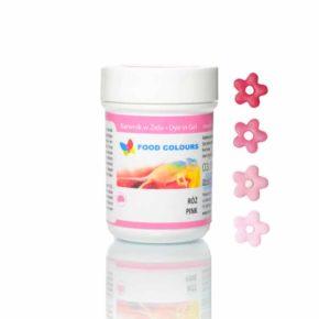 Βρώσιμο χρώμα 35γρ ροζ